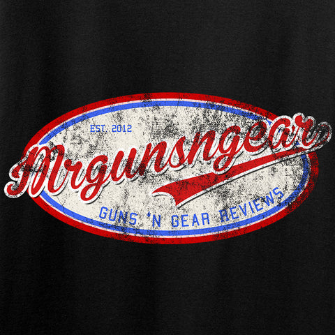 Mrgunsngear Mrgunsngear Logo Long Sleeve T-Shirt Long Sleeve [variant_title] by Ballistic Ink - Made in America USA