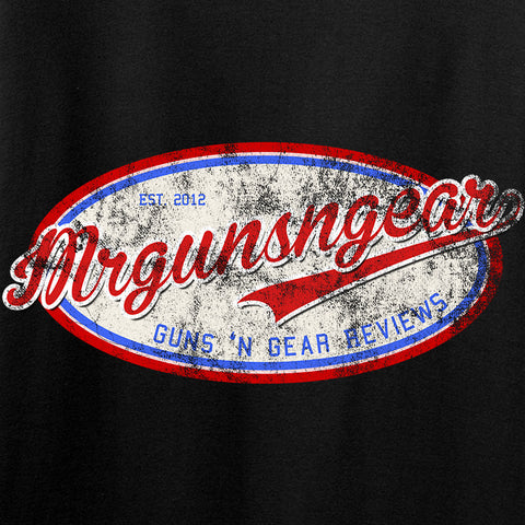 Mrgunsngear Ladies Mrgunsngear Logo T-Shirt T-Shirts [variant_title] by Ballistic Ink - Made in America USA