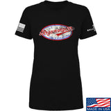 Mrgunsngear Ladies Mrgunsngear Logo T-Shirt T-Shirts SMALL / Black by Ballistic Ink - Made in America USA