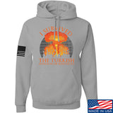 RapidFire Rachel I survived the Turkish invasion of Kentucky Hoodie Hoodies Small / Light Grey by Ballistic Ink - Made in America USA