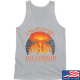 RapidFire Rachel I survived the Turkish invasion of Kentucky Tank Tanks SMALL / Light Grey by Ballistic Ink - Made in America USA