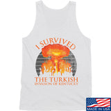 RapidFire Rachel I survived the Turkish invasion of Kentucky Tank Tanks SMALL / White by Ballistic Ink - Made in America USA