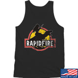 RapidFire Rachel RapidFire Rachel Logo Tank Tanks SMALL / Black by Ballistic Ink - Made in America USA
