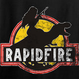 RapidFire Rachel RapidFire Rachel Logo Long Sleeve T-Shirt Long Sleeve [variant_title] by Ballistic Ink - Made in America USA