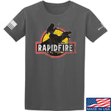 RapidFire Rachel RapidFire Rachel Logo T-Shirt T-Shirts Small / Charcoal by Ballistic Ink - Made in America USA