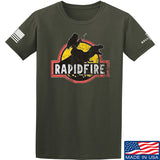 RapidFire Rachel RapidFire Rachel Logo T-Shirt T-Shirts Small / Military Green by Ballistic Ink - Made in America USA