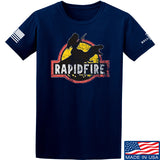 RapidFire Rachel RapidFire Rachel Logo T-Shirt T-Shirts Small / Navy by Ballistic Ink - Made in America USA