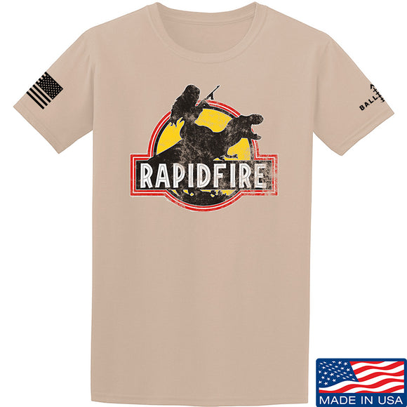 RapidFire Rachel RapidFire Rachel Logo T-Shirt T-Shirts [variant_title] by Ballistic Ink - Made in America USA