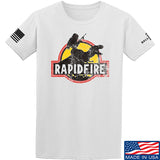RapidFire Rachel RapidFire Rachel Logo T-Shirt T-Shirts Small / White by Ballistic Ink - Made in America USA