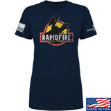 RapidFire Rachel Ladies RapidFire Rachel Logo T-Shirt T-Shirts [variant_title] by Ballistic Ink - Made in America USA