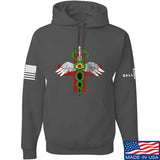 Skinny Medic Skinny Medic Logo Hoodie Hoodies Small / Charcoal by Ballistic Ink - Made in America USA