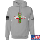 Skinny Medic Skinny Medic Logo Hoodie Hoodies Small / Light Grey by Ballistic Ink - Made in America USA