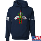 Skinny Medic Skinny Medic Logo Hoodie Hoodies Small / Navy by Ballistic Ink - Made in America USA
