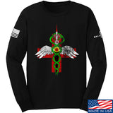 Skinny Medic Skinny Medic Logo Long Sleeve T-Shirt Long Sleeve Small / Black by Ballistic Ink - Made in America USA