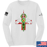 Skinny Medic Skinny Medic Logo Long Sleeve T-Shirt Long Sleeve Small / White by Ballistic Ink - Made in America USA