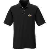 Skinny Medic Skinny Medic Logo Polo Polos Small / Black by Ballistic Ink - Made in America USA