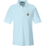 Skinny Medic Skinny Medic Logo Polo Polos Small / Crystal Blue by Ballistic Ink - Made in America USA