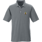 Skinny Medic Skinny Medic Logo Polo Polos Small / Graphite by Ballistic Ink - Made in America USA
