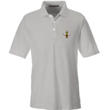 Skinny Medic Skinny Medic Logo Polo Polos Small / Silver by Ballistic Ink - Made in America USA