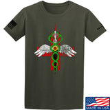 Skinny Medic Skinny Medic Logo T-Shirt T-Shirts Small / Military Green by Ballistic Ink - Made in America USA