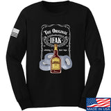 Skinny Medic The Original IFAK Long Sleeve T-Shirt Long Sleeve Small / Black by Ballistic Ink - Made in America USA