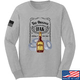 Skinny Medic The Original IFAK Long Sleeve T-Shirt Long Sleeve Small / Light Grey by Ballistic Ink - Made in America USA