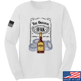 Skinny Medic The Original IFAK Long Sleeve T-Shirt Long Sleeve Small / White by Ballistic Ink - Made in America USA