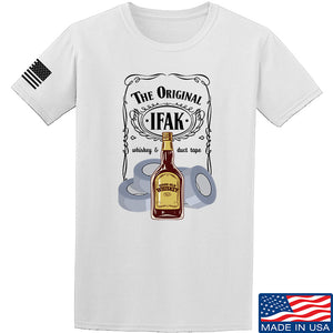 Skinny Medic The Original IFAK T-Shirt T-Shirts Small / Charcoal by Ballistic Ink - Made in America USA