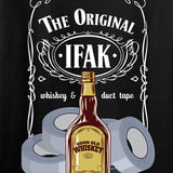 Skinny Medic Ladies The Original IFAK V-Neck T-Shirts, V-Neck [variant_title] by Ballistic Ink - Made in America USA