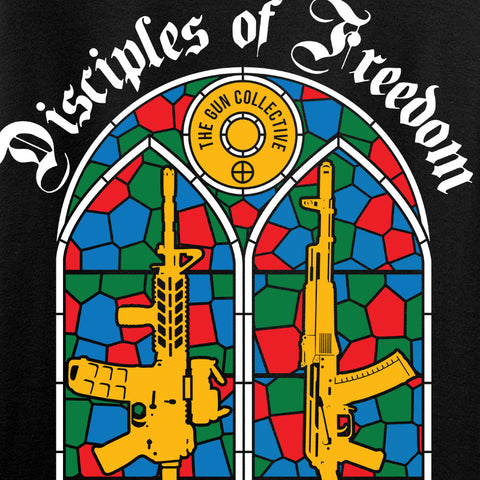 The Gun Collective Disciples of Freedom T-Shirt T-Shirts [variant_title] by Ballistic Ink - Made in America USA