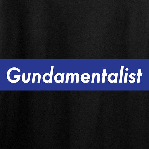 The Gun Collective Blue Gundamentalist T-Shirt T-Shirts [variant_title] by Ballistic Ink - Made in America USA