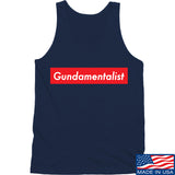 The Gun Collective Red Gundamentalist Tank Tanks SMALL / Black by Ballistic Ink - Made in America USA