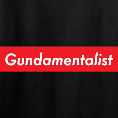 The Gun Collective Red Gundamentalist T-Shirt T-Shirts [variant_title] by Ballistic Ink - Made in America USA