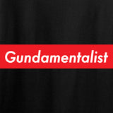 The Gun Collective Red Gundamentalist Long Sleeve T-Shirt Long Sleeve [variant_title] by Ballistic Ink - Made in America USA