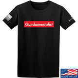 The Gun Collective Red Gundamentalist T-Shirt T-Shirts Small / Black by Ballistic Ink - Made in America USA
