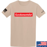 The Gun Collective Red Gundamentalist T-Shirt T-Shirts Small / Sand by Ballistic Ink - Made in America USA