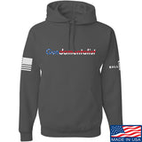 The Gun Collective Flag Gundamentalist Hoodie Hoodies Small / Charcoal by Ballistic Ink - Made in America USA