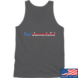 The Gun Collective Flag Gundamentalist Tank Tanks SMALL / Charcoal by Ballistic Ink - Made in America USA