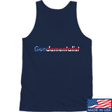 The Gun Collective Flag Gundamentalist Tank Tanks SMALL / Navy by Ballistic Ink - Made in America USA