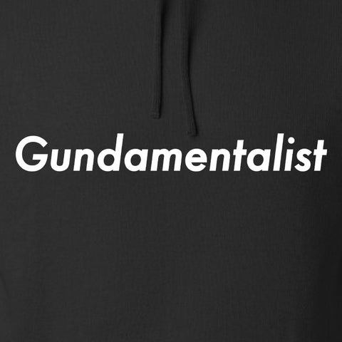 The Gun Collective White Gundamentalist Hoodie Hoodies [variant_title] by Ballistic Ink - Made in America USA