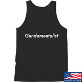 The Gun Collective White Gundamentalist Tank Tanks SMALL / Black by Ballistic Ink - Made in America USA