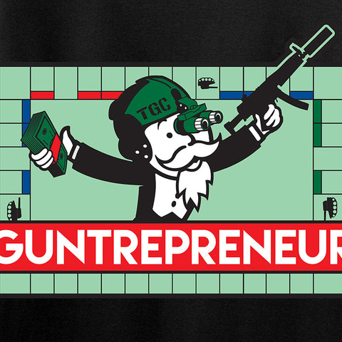 The Gun Collective Guntrepreneur T-Shirt T-Shirts [variant_title] by Ballistic Ink - Made in America USA