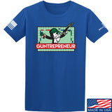 The Gun Collective Guntrepreneur T-Shirt T-Shirts Small / Blue by Ballistic Ink - Made in America USA