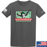 The Gun Collective Guntrepreneur T-Shirt T-Shirts Small / Charcoal by Ballistic Ink - Made in America USA
