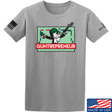 The Gun Collective Guntrepreneur T-Shirt T-Shirts Small / Light Grey by Ballistic Ink - Made in America USA