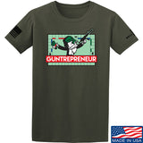 The Gun Collective Guntrepreneur T-Shirt T-Shirts Small / Military Green by Ballistic Ink - Made in America USA