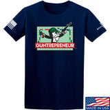 The Gun Collective Guntrepreneur T-Shirt T-Shirts Small / Navy by Ballistic Ink - Made in America USA