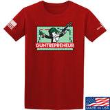 The Gun Collective Guntrepreneur T-Shirt T-Shirts Small / Red by Ballistic Ink - Made in America USA