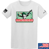 The Gun Collective Guntrepreneur T-Shirt T-Shirts Small / White by Ballistic Ink - Made in America USA