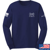 The Gun Collective The Gun Collective Chest Logo Long Sleeve T-Shirt Long Sleeve Small / Navy by Ballistic Ink - Made in America USA